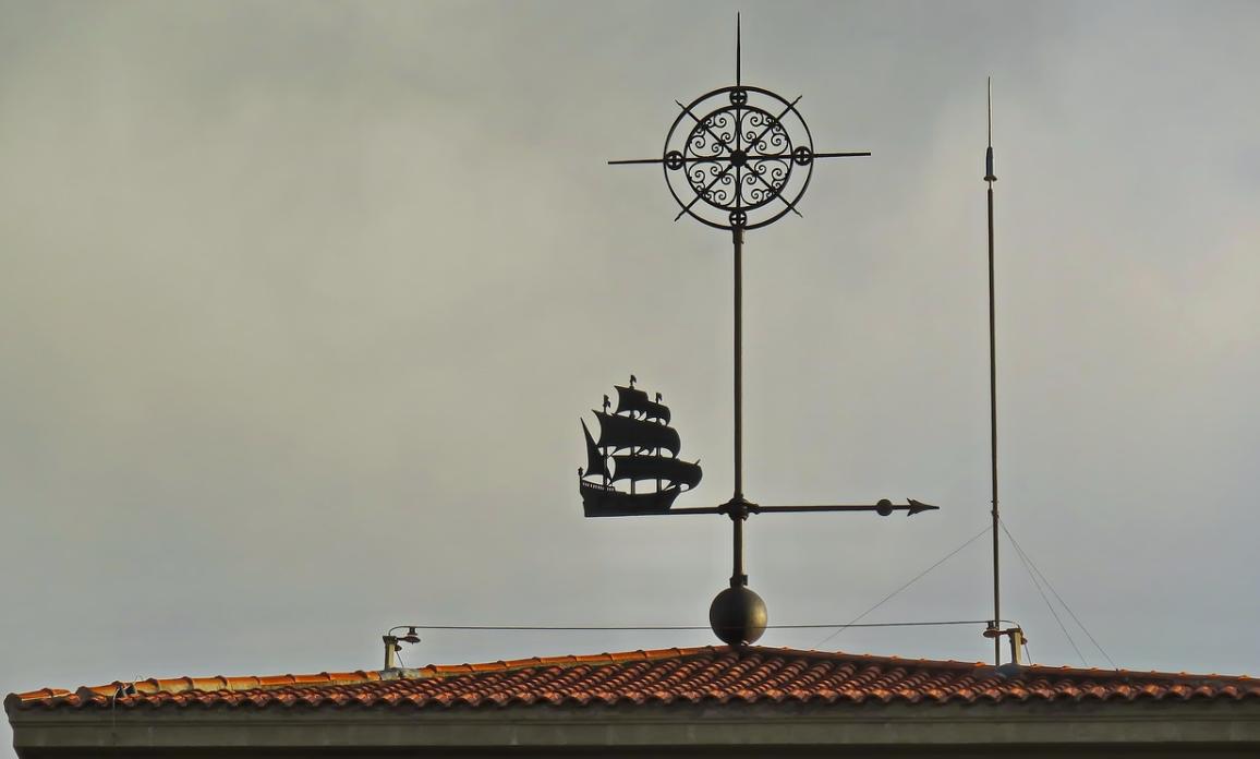 hromosvod na střeše