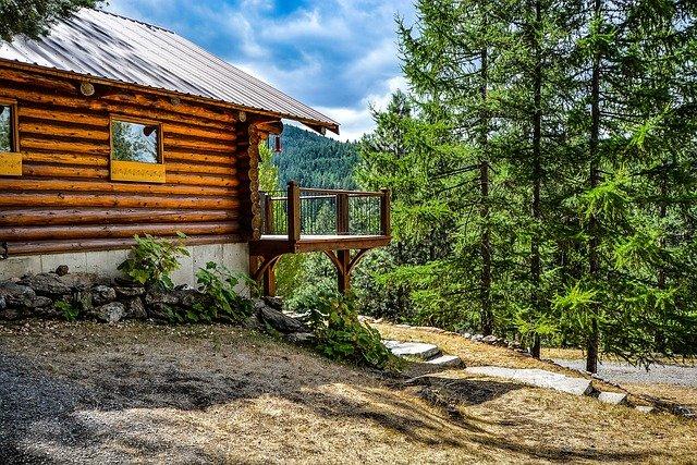 dřevo v domě i okolo něj