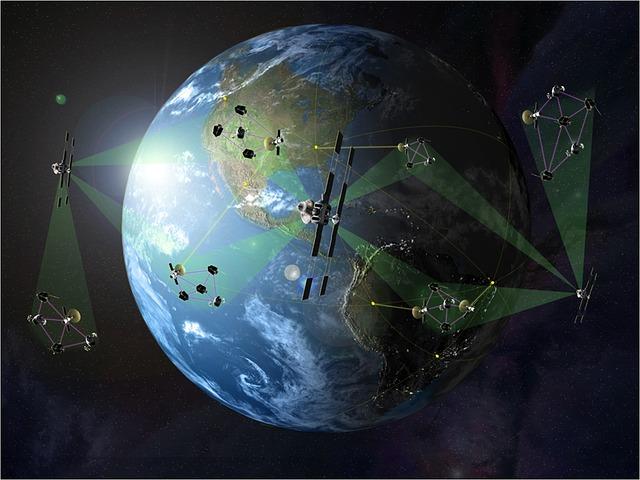 vesmírné družice