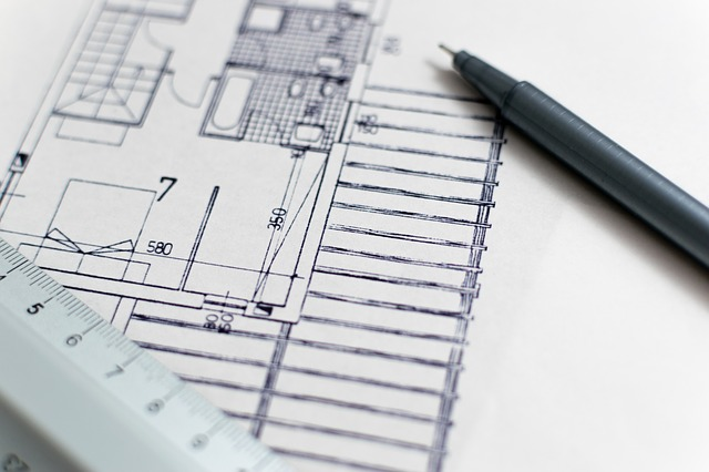 plánek domu
